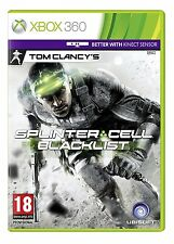 * XBOX 360 NEW SEALED Game * SPLINTER CELL BLACKLIST