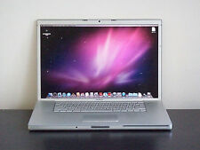 "☛APPLE 17"" MACBOOK PRO ALUMINUM COMPUTER WIDESCREEN MAC LION OFFICE SILVER PUTER"