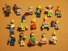New! Lego Simpsons Complete Collector Set of 16 Minifigs Minifigures Mini Figs