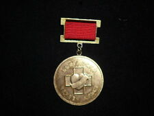 Bulgaria Red cross Blood donor 30 years 1989 medal award badge communist era
