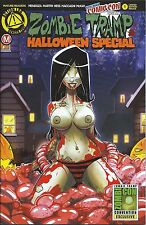 ZOMBIE TRAMP HALLOWEEN SPECIAL 1 RISQUE NYCC NEW YORK COMIC CON 2016 VARIANT NM