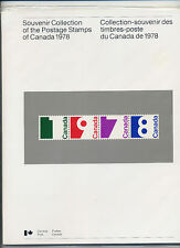 Weeda Canada VF 1978 Annual Collection #21, complete sealed booklet CV $30