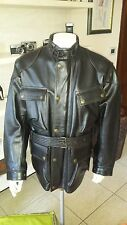 Belstaff Panther-  Leather Jacket -Made in italy-Size L- RARE BLACK
