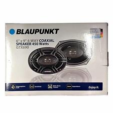"Blaupunkt GTX690 450 W Max 6"" x 9"" 4-Way 4 Ohm Stereo Car Audio Coaxial Speakers"