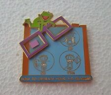 *~*DISNEY WDW PIECE OF DISNEY HISTORY 2005 MUPPET VISION 3-D LE PIN*~*