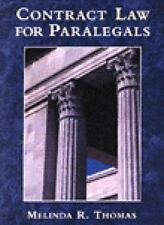 Contract Law for Paralegals by Melinda R. Thomas (1997, Paperback)