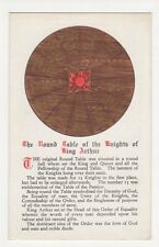 The Round Table & Knight s of King Arthur Postcard, B290