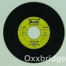 MELLO-KINGS SIGNED DICK LEVISITER Baby Tell Me/Only HERALD Original 1958 MELLOW
