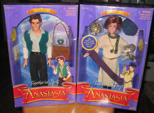 ANASTASIA & DIMITRI classic dolls Galloob 1997 Anya pooka dog 20th century Fox