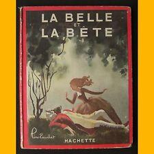 LA BELLE ET LA BÊTE Madame Leprince de Beaumont Line Touchet 1947