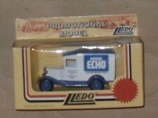 LLEDO promo diecast model delivery truck newspaper evening echo Bournemouth