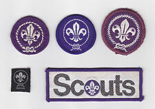 WORLDWIDE BOY SCOUTS & GIRL GUIDES Membership Rank Award Scout Patch (Lot B)