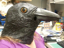 Sinister Crow / raven Mask - New in package - Dress up Adult size Mask