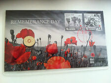 2015 UNC $2 REMEMBERANCE DAY CENTENARY OF WWI  OVERPRINT PNC
