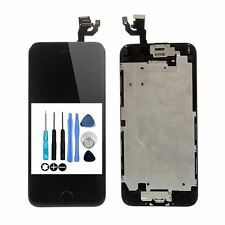 For iPhone 6 LCD Display Digitizer Screen Complete Home Button + Camera BLACK