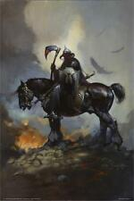 DEATH DEALER - FRAZETTA ART POSTER - 24x36 FANTASY 805
