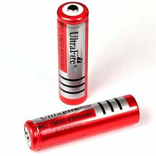 1 Ultra Fire BRC 4200 mAh Lithium Ionen Akku 3,7 V / 18650 Li  - ion 65 x 18 mm
