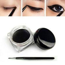 Black Color Cosmetic Waterproof Eye Liner Eyeliner Shadow Gel Makeup&Brush D1