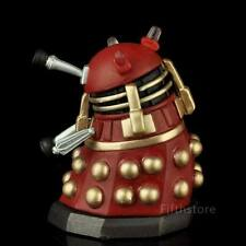 "2.5"" Doctor Who Action Figure Red Dalek Time Squad Loose New 66"