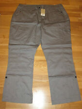 cotton traders steel grey outdoor trousers size 26 leg 31 brand new with tags