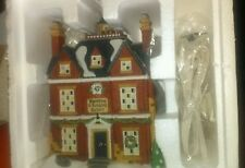 Dept 56, Dickens Village, RETIRED, BOARDING AND LODGING SCHOOL
