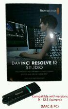 NEW Blackmagic Davinci Resolve Studio Dongle (Mac & PC)(Current) **SALE**
