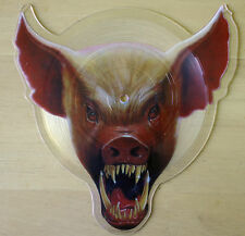 EX/EX WASP ANIMAL (F**K LIKE A BEAST) SHAPED VINYL PICTURE PIC DISC PIG 109