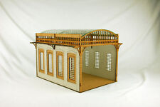 Gas Lamp Alley VICTORIAN COVERED MARKET/STATION MDF scale Building 28mm G051