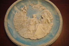 "Incolay CA collector plate ""Sonets of Shakespeare"""