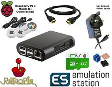 Retropie 32gb kit completo Raspberry Pi 3 B + emulatore MAME arcade hyperspin