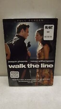 WALK THE LINE DVD 2006 FULL SCREEN JOAQUIN PHOENIX REESE WITHERSPOON