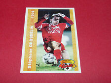 STEPHANE GROSSELIN US VALENCIENNES ANZIN USVA FRANCE FOOTBALL CARD PANINI 1994