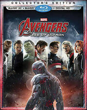 Avengers: Age of Ultron  3D Blu-ray Disc, 2015, + Digital Copy NO SLIPCOVER