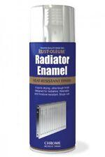 Radiateur émail chrome métallique RUST-OLEUM rapide SPRAY SEC peinture aérosol 400ml
