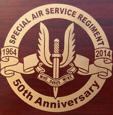 RARE AUSTRALIAN ARMY SPECIAL AIR SERVICE REGIMENT SASR 50TH ANNIVERSARY COIN #'D