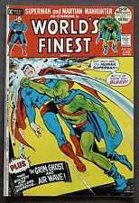 World's Finest #212 VF+ Superman Martian Manhunter