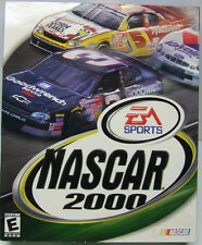 NASCAR 2000 WINDOWS CD-ROM FACTORY SEALED LARGE RETAIL BOX