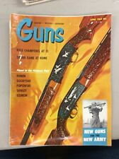 Vintage Guns Magazine April 1963 New Guns For The Army 12 Gauge Winchester Model