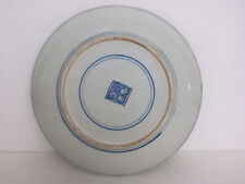 Fine Chinese Blue and White Porcelain Plate with mark