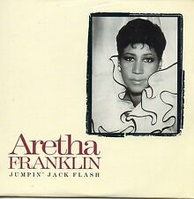 "CD Single Aretha FRANKLIN - The ROLLING STONES Jumpin"" jack flash 2-track CARD S"