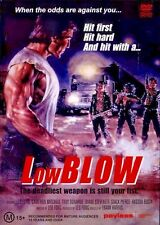 LOW BLOW (1986 DVD) Leo Fong  Cameron Mitchell  80's B-Movie Rare