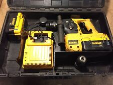 DEWALT DC234 36 VOLT CORDLESS DRILL + 2x 36V BATTERY & CHARGER *SEE VIDEO*