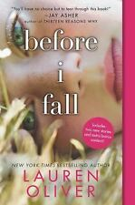 Before I Fall by Lauren Oliver (2016, Paperback)