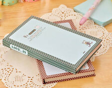 """""""Love Is"""" Hard Cover Pocket Cute Diary Ruled Memo Notebook Planner Journal #BY5"""