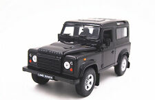 Free Shipping 1:24 Welly Land Rover Defender Diecast Model Toy Car Vehicle Black