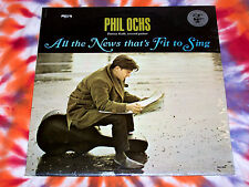 PHIL OCHS All The News That's Fit To Sing ELEKTRA RECORDS 1964 STILL SEALED Mono