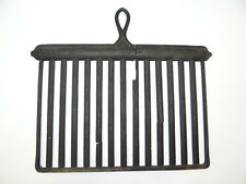 Antique Old Metal Cast Iron Black Kitchen 5K Cooking Stove Grill Broiler Pan