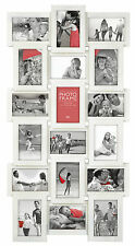 18 Photos Large Multi Aperture Photo Picture Frame Holds 6''X4'' Home Decor