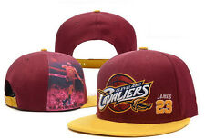 Capellino NBA basket Cap Cleveland Cavaliers Snapback CAVS Lebron James Capello