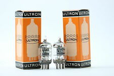 2 X 5654 TUBE. ULTRON BRAND. SQUARE GETTER. MATCHED PAIR. NOS/NIB. CRYOTREATED.